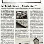 Artikel Fechenheimer Anzeiger