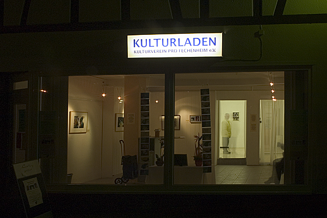 Kulturladen bei Nacht