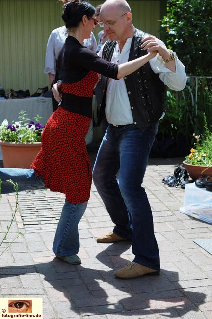 Tango im Hof