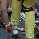 Stöckelschuhlauf beim CSD Franfkurt 2013
