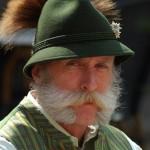 beeindruckender Bart