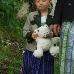 mit Oma zum Pfarrfest