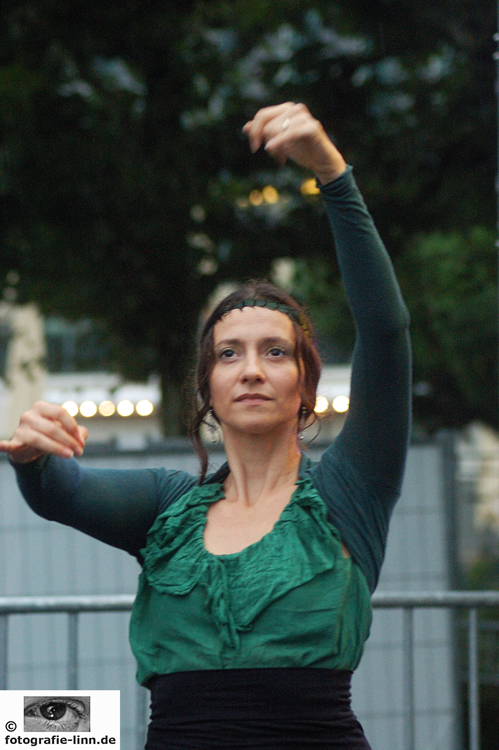 Tanzpose beim Flamenco 2