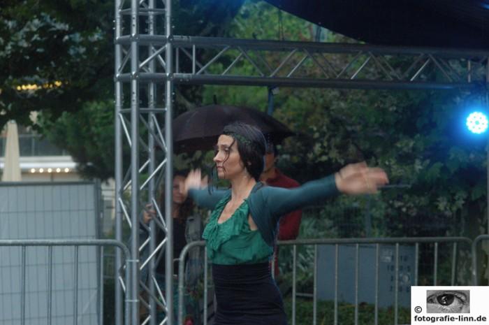 Flamenco-Bühne