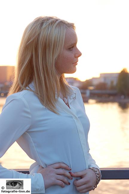 Portrait im Profil 2