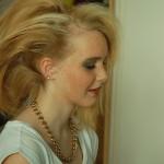 und jetzt die Frisur...
