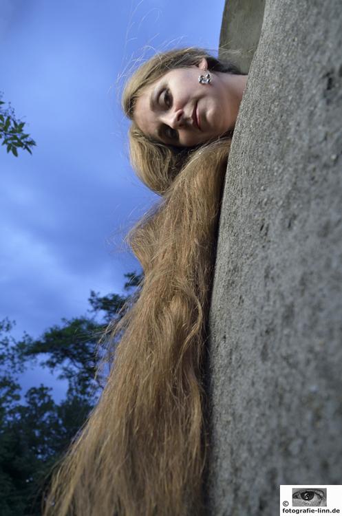 Rapunzel im Abendlicht