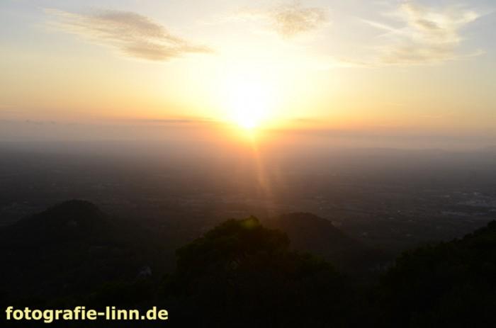 Sonnenuntergnag Sant Salvador