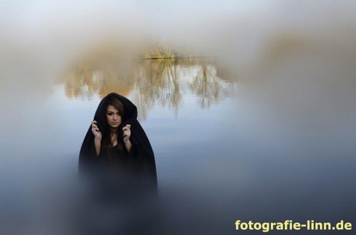 im Nebel am Fluss