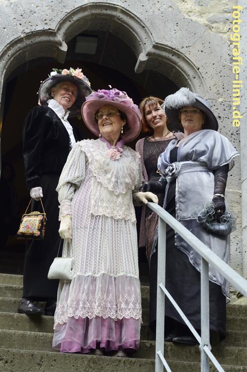 Gruppenfoto mit Silke Trunk