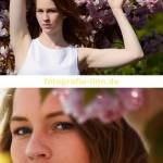 Collage Kirschblüten