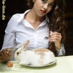 frisches Kaninchen