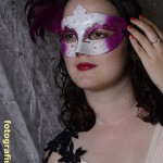 elegant mit Maske