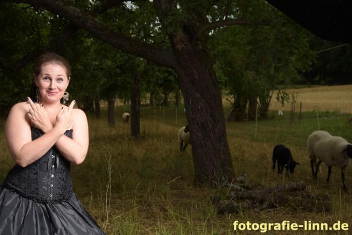 Spaß beim Fotoshooting