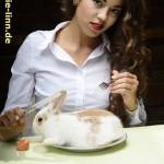 Kaninchenbraten