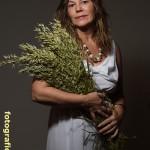 Göttin Demeter mit Getreideähren