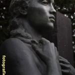 Nahaufnahme weibliche Statue