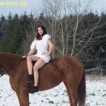 Posing auf Pferd