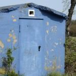 Das kleine blaue Haus
