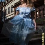 Cinderella auf der Schlosstreppe