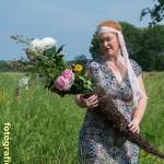Flora mit Füllhorn