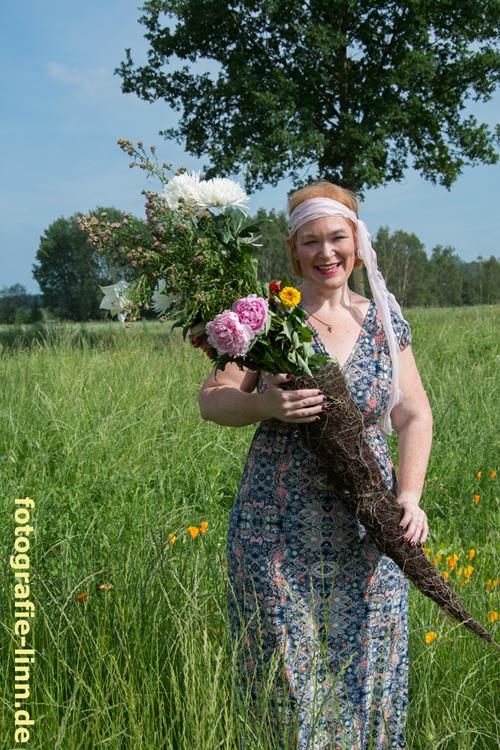 Flora im Blumenfeld