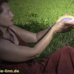 composing Götterbotin mit Regenbogen