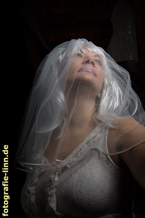 Portrait die weiße Frau