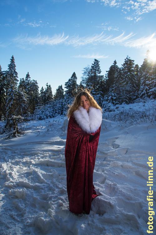 Wintertraum in rot und weiß