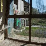 Fenstermit Spinnweben