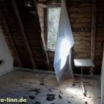 Lichteinfall in Dachzimmer