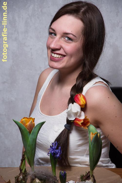 Lächeln & Blumen