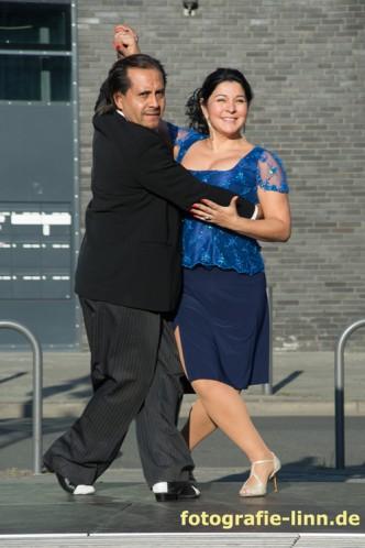 das Tangotanzpaar