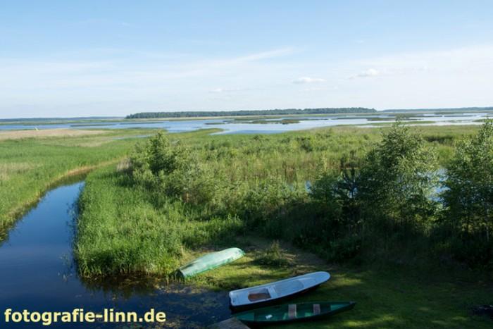 weite Seenlandschaft