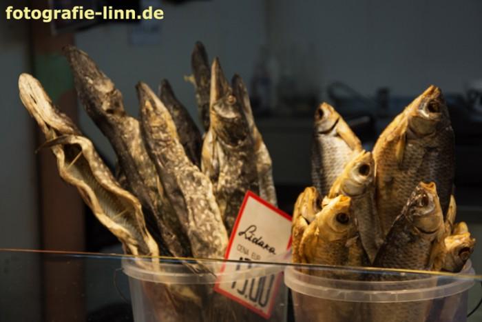 Fisch in der Markthalle