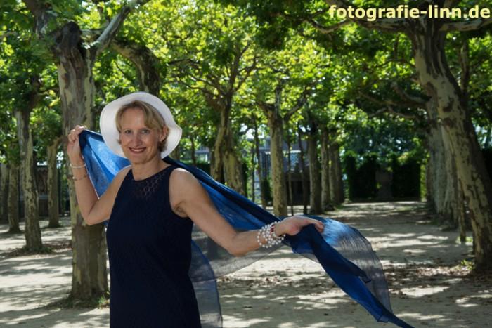 das blaue Tuch