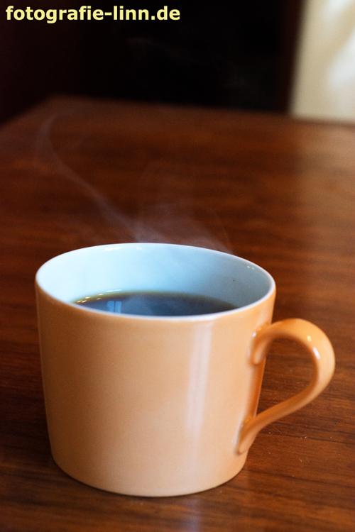 schwächerer Kaffeedampf
