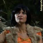 Cleopatra mit Pelz