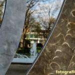 Blick durch die Skulptur